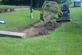 Grading and Drainage Solutions in Middle Georgia
